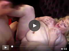 Taboo residence story with full-grown BBW mamacita and male slave