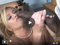 Mellow mamacita screwed by blacks cause son owes  specie
