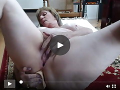 Grown mamacita anal play