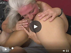 Furry ready female-on-female mommy obtains licked by a perspired beauty