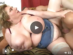 Giant breasted BBW mamacita I'd get pleasure to fuck getting owned by her tool chap sub