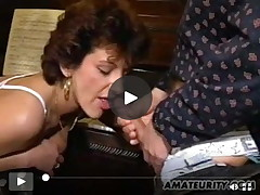 Mellow juvenile wife homemade MMF with semen