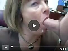 Wife sucks cock