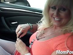 Cougar MILF receives anal
