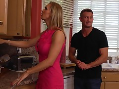 Tanya Tate gets drilled by her son's partner