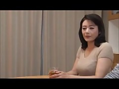 Full-grown japanese stepmom know how to