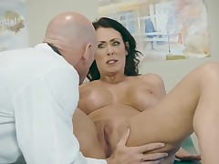 Enormous titted ready lady bonked on doctor table - ThePornClinic