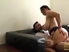 PASCALSSUBSLUTS - Huge Mangos Sabrina Jade Riding For Facial