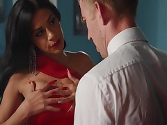 Hawt Julia De Lucia Seducing And Astonishingly Information Out Of Him