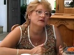 MILF and grandmother penetrated