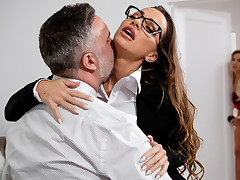 Amber In The Hills: Part 2 Free Video With Abigail Mac - BRAZZERS