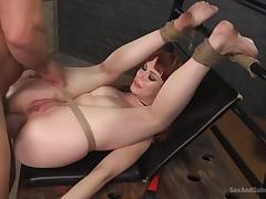 Redhead Doll Alexa Nova Raw Porn Movie
