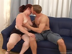 Chubby, old and with a vast hunger after for cock, ripened Jana shows us all, how this babe likes to fuck. This oozy ripened loves snake more, than at all and this babe enjoys this guy's all the time inch. This babe sucks his penis, acquires her pussy rub