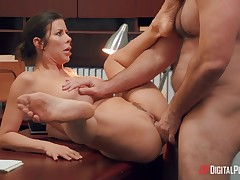Extreme Milf Alexis Fawx Gains Anally Punished By Her Boss