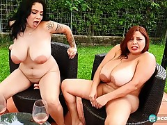 Large Wobblers In Chubby Tatas
