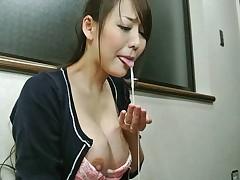 Cheating Wife Akari Asayiri Acquires Face-fucked - JapanHDV