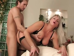 The Dual Young Devotees Of Russian Horny Mama Elena