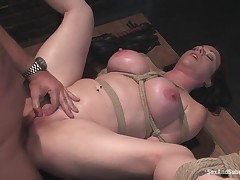 Sticky Porn Darling Kylie Ireland Bondage Scene