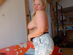 She per felt have a fun a cunt and now that time has passed and she's old, nanny Nina wants to give she's a burst in raising gentlemen weenies on the internet. give this old broad a burst and enjoy how that babe takes off her  piece by piece until she's n