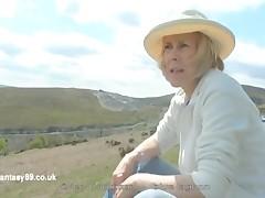 Hazel May, Vivien Goodman Goes Exposed Outdoors