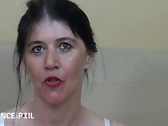 La France A Poil - Angelina, 45 Yo Mature, Purchases Double