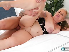 Blair Girls is a mature, blonde woman who keen to a doggy- style fuck a lot