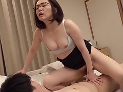 Perspired japonese mature with adorer 01900
