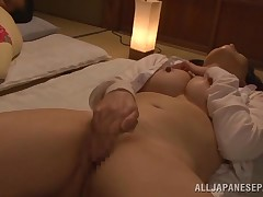 She's so lewd that her nipps are vivacious now and her entrance instigates with desire. Sorami is a week Japanese Mature that wishes a tough fuck to obtain off. See her how this girl puts her hand bottom her panties and masturbate. Then, Sorami takes off