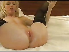 Blonde Slut Wife Gets Double Teamed and Creampied by BBC.elN