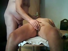german mature fuck in the kitchen