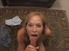 Hot Milf Blowjub with Cumshot Swallow Facial