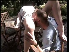 Outdoor Fuck and Blowjob