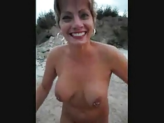 Mature milf having getting joy unclothed