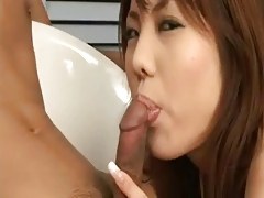 Shapely Japanese Dear Gains Chubby Creampie