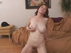Redhead Milf fucks young lover