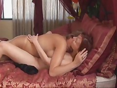 Young Lesbian seduces Mom's Secretary