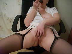 Filthy mother squirting loads