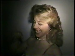 Swinger wife slut gloryhole in the adult cinema - snake