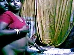 horney Indian Female house servant