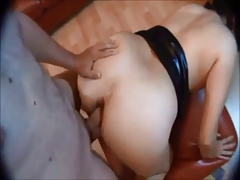 Adolescent rounded waste fucked on homemade