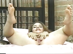 Moist angel laid largest showing largest mangos and fingers her pussy