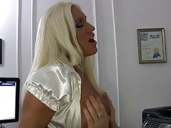 Blonde Courtesan Mother I'd like to fuck Fucks her Boss