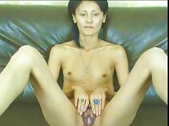 oriental milf on webcam