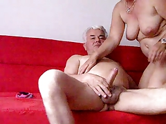 Swissmature sucks and rides Silverstallion