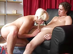fairy-haired mamma fuck man