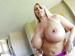 This excited MILF has some enormous butt tits PTD