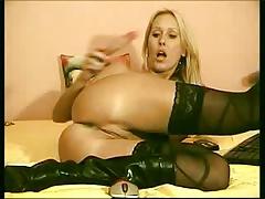 astonishingly moist girl blond cam show
