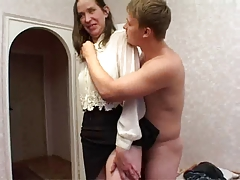 Fucked and dick water on face revolting neighbor!