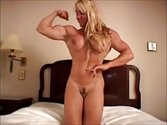 hardbody blond milf as was born on couch