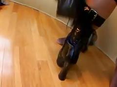 Jewel DeNyle sexy infatuation boots Lex Steele BBC